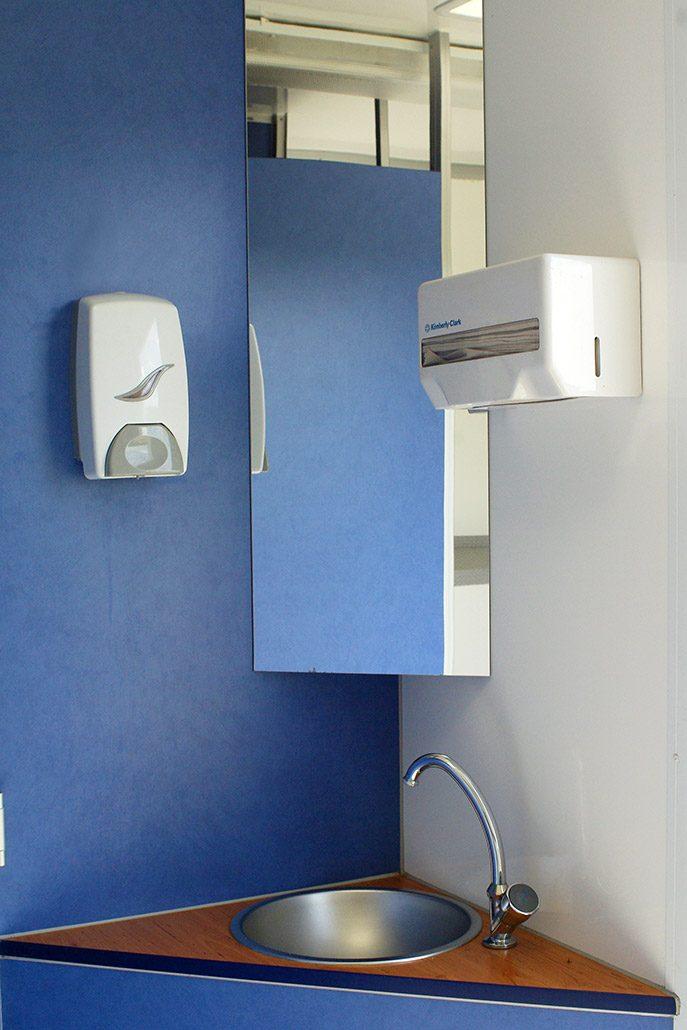 Toilettenwagen Gamo Waschbecken