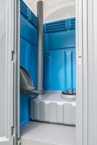Toilettenkabine für Baustellen