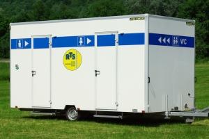 Toilettenwagen Gamo